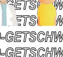 Get Schwifty Hotline Bling  Sticker