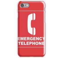 Emergency Telephone iPhone Case/Skin