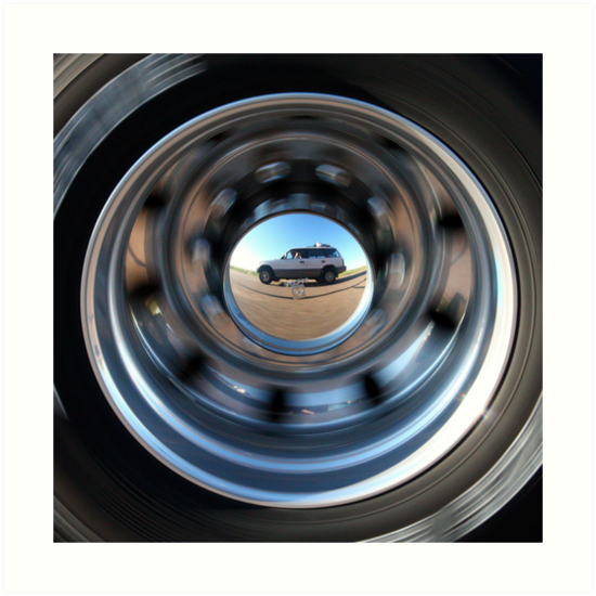 On the Road Self-Portrait by Daniel Owens
