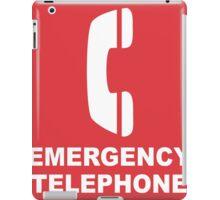 Emergency Telephone iPad Case/Skin