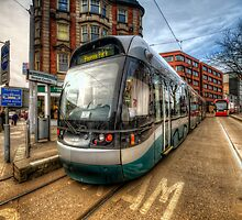 Nottingham Tram by Yhun Suarez