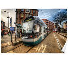 Nottingham Tram Poster