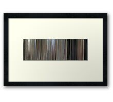 Moviebarcode: One Flew Over the Cuckoo's Nest (1975) Framed Print