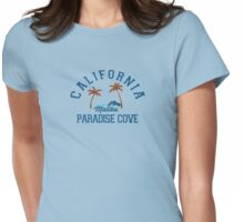 Malibu - California. Womens Fitted T-Shirt