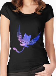 Galaxy Fairy Tail Happy Design Women's Fitted Scoop T-Shirt
