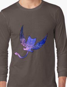 Galaxy Fairy Tail Happy Design Long Sleeve T-Shirt