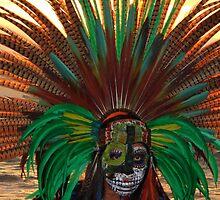 Aztec Dancer II - Bailerín Azteca by Bernhard Matejka