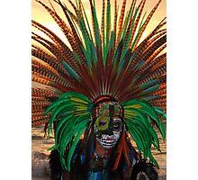 Aztec Dancer II - Bailerín Azteca Photographic Print