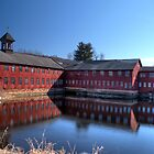 Old Collinsville Mill by Timothy Borkowski