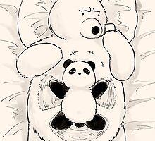 My Own Snow Angel by Panda And Polar Bear