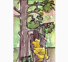 Trees with Yellow Fungus Unisex T-Shirt