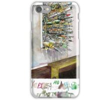 Eyedea (by the throat) iPhone Case/Skin