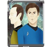 TOS meets TNG iPad Case/Skin