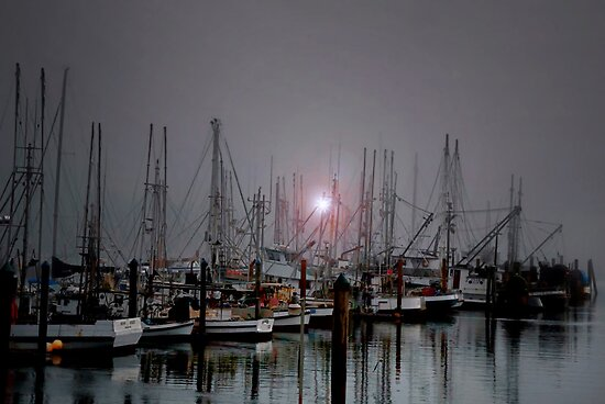Down By The Sea by Charles & Patricia   Harkins ~ Picture Oregon