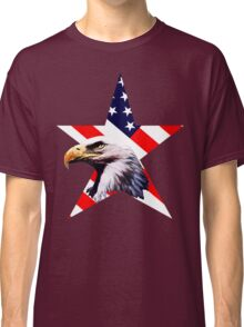 american star the Bald eagle Classic T-Shirt