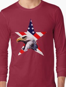 american star the Bald eagle Long Sleeve T-Shirt