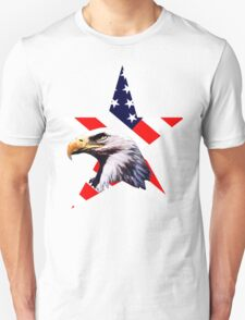 american star the Bald eagle Unisex T-Shirt