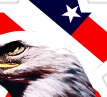 american star the Bald eagle Sticker