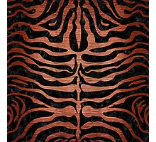 SKN2 BK MARBLE COPPER Photographic Print