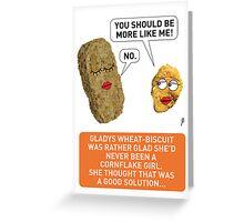 Cornflake Girl Greeting Card