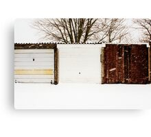 Not All Snowy Landscape Scenes Are The Same Canvas Print