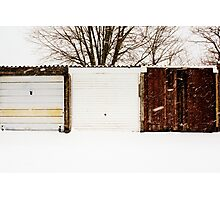 Not All Snowy Landscape Scenes Are The Same Photographic Print