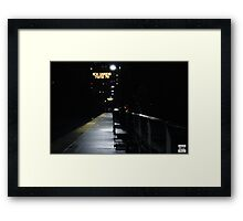 16 Hours in New York Framed Print