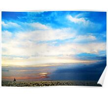 A Perfect End - Sailboat Art Painting Poster