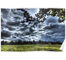 English Landscape Poster