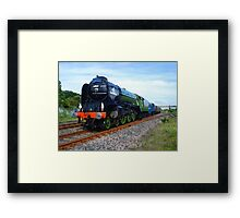 Flying Scotsman Train Framed Print