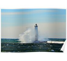 Frankfort Lighthouse Poster