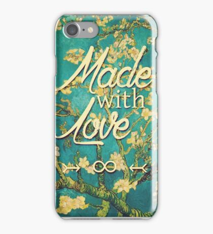 Made with love iPhone Case/Skin