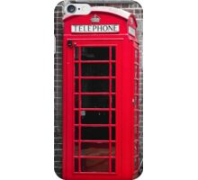 Phonebooth iPhone Case/Skin