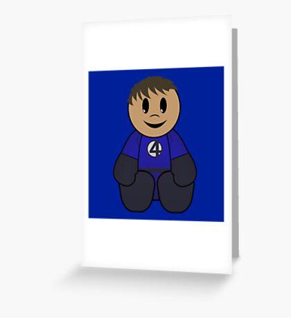 Mr. Fantastic Pal Greeting Card