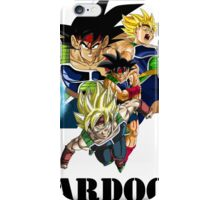 Bardock - Dragon Ball Z [with text] iPhone Case/Skin