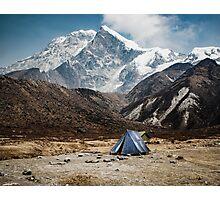 mountain camp Photographic Print