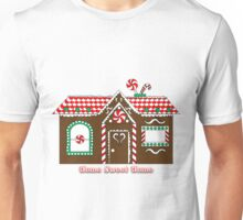 "Gingerbread House ""Home Sweet Home"" Unisex T-Shirt"