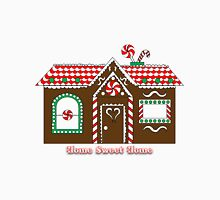 """Gingerbread House """"Home Sweet Home"""" Unisex T-Shirt"""