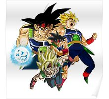 Bardock - Dragon Ball Z [without text] Poster