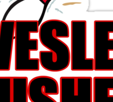 The Wesley Crushers Sticker