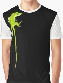 Over the Shoulder Graphic T-Shirt