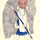 Princess Mononoke by Ryan Humphrey