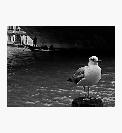 LONELY DUDE Photographic Print