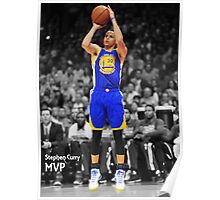 Stephen Curry MVP Poster