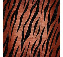 SKN3 BK MARBLE COPPER (R) Photographic Print