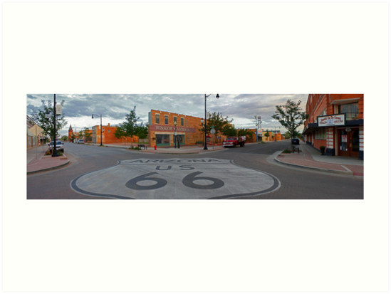The Corner - Winslow, AZ by Daniel Owens