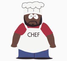 Chef (South Park) by MajinTweek