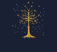 Tree of Gondor Gold & Snow by batiman