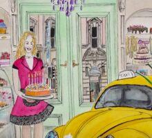Taxi Bug's Cake Shop Sticker