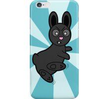 Grumpy Bunny Kung Fu Master iPhone Case/Skin